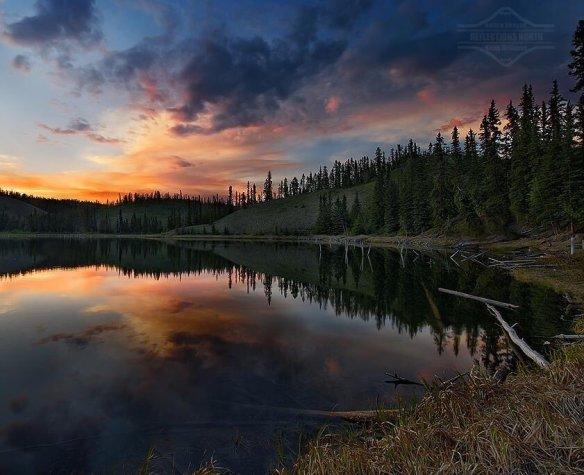 hidden-lake-at-sundown-photography-by-keith-williams