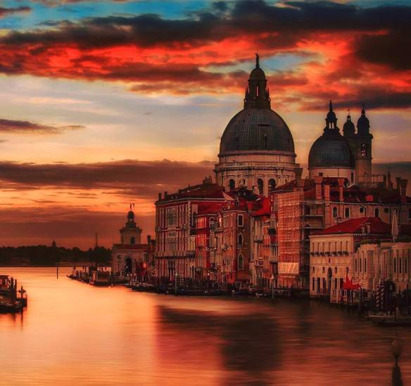 sunset-in-venice-photography-by-vittorio-ponti