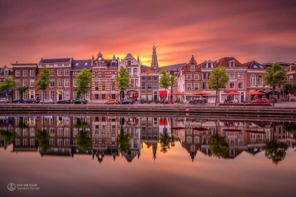 sunset-over-haarlem-netherlands-photography-by-dick-van-duijn