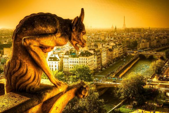a-gargoyle-looking-over-paris-france-photography-by-darthmauldds