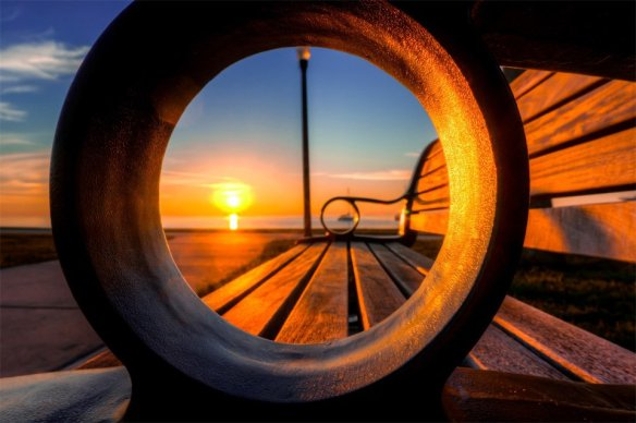a-sunrise-through-bench-florida-photography-by-dmitry-bubis