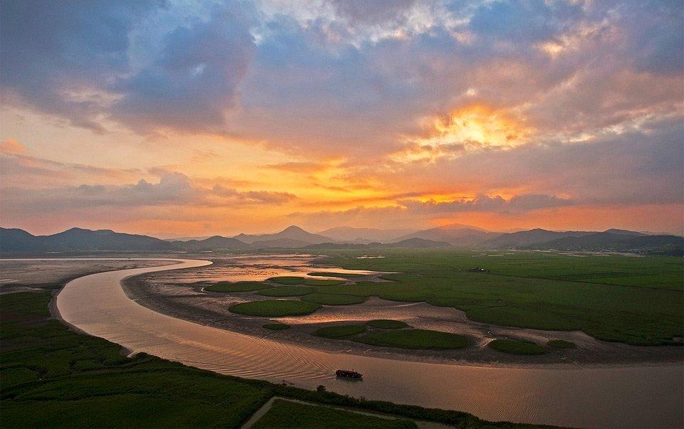 East Korean Bay Suncheon Bay Su...