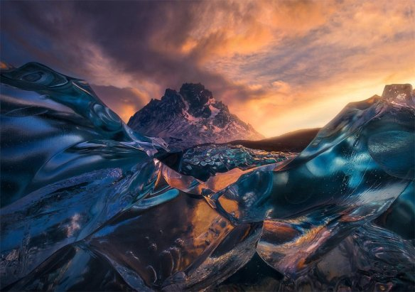 sunrise-below-crystal-icebergs-chile-photography-by-marc-adamus