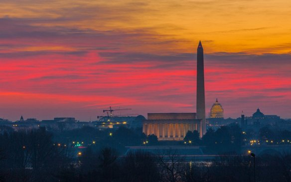 Washington DC sunrise | Photography by ©@AnthonyQuintano.jpg