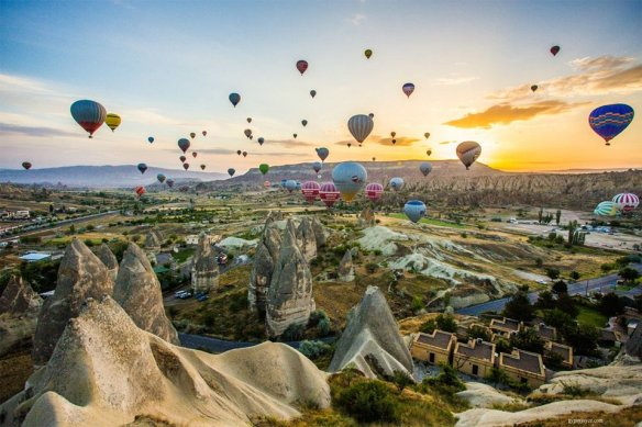 Hot Air Balloon Ride In Cappadocia, Turkey | Photography by ©Gypsy Joyce.jpg