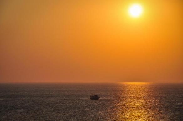 Alone at sea | Photography by ©Jono Hey.jpg