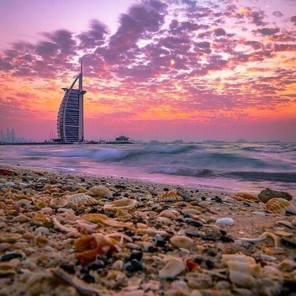 Burj Al Arab in sunset, Dubai | Photography by ©Mohammed Al-Nuaimi.jpg