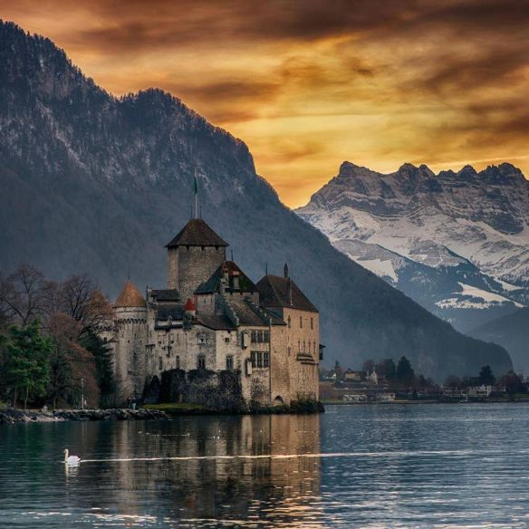 Château de Chillon, Switzerland | Photography by ©Stanley Chen Xi