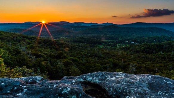 Sunset at Blue Ridge NPS, #NorthCarolina | Photography by ©Jim Ruff