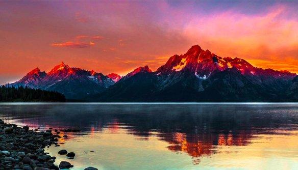 Grand Teton National Park, Wyoming   Photography by ©Venkatreddy Kancharla
